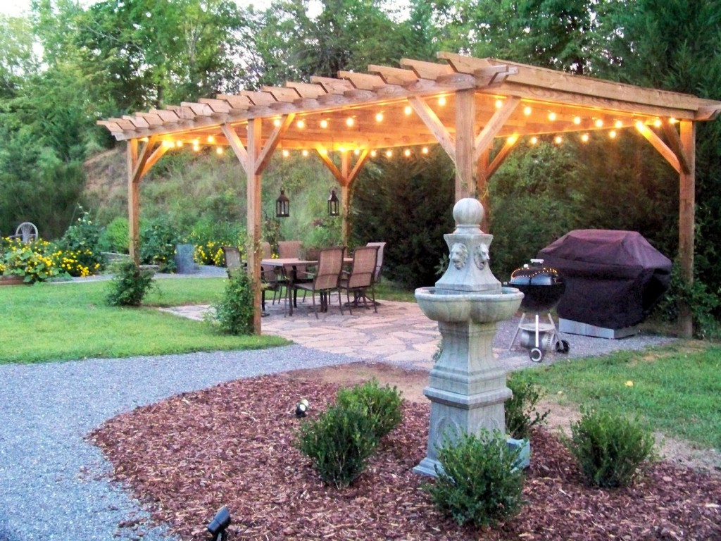 String Lights Patio Cover : Patio Covers & Lattices Armendillo Design-Build